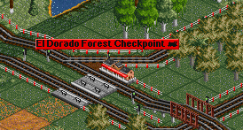 Use waypoints to guide your trains along elaborate networks